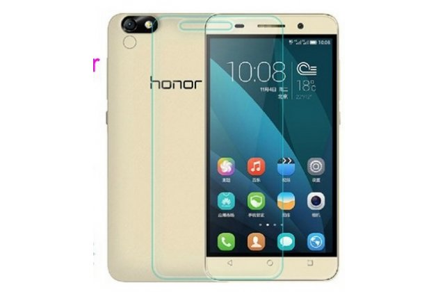Фирменная оригинальная защитная пленка для телефона Huawei Honor 4X глянцевая