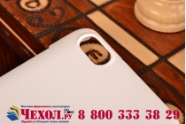 Фирменная задняя панель-крышка-накладка из тончайшего и прочного пластика для Huawei Honor 4X белая