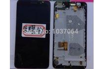 Фирменный LCD-ЖК-сенсорный дисплей-экран-стекло с тачскрином на телефон Huawei Honor 4X черный + гарантия