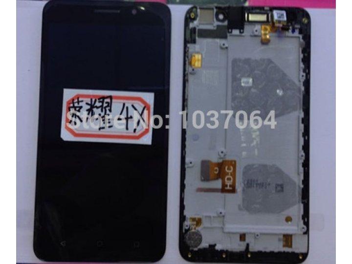Фирменный LCD-ЖК-сенсорный дисплей-экран-стекло с тачскрином на телефон Huawei Honor 4X черный + гарантия..
