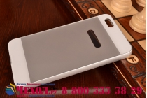 Фирменная металлическая задняя панель-крышка-накладка из тончайшего облегченного авиационного алюминия для Huawei Honor 4X серебристая