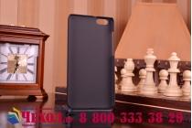 Фирменная задняя панель-крышка-накладка из тончайшего и прочного пластика для Huawei Honor 4X черная