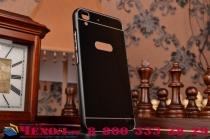 Фирменная металлическая задняя панель-крышка-накладка из тончайшего облегченного авиационного алюминия для Huawei Honor 4A/Y6/ Y6 Dual sim черная