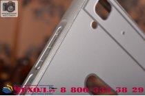 Фирменная металлическая задняя панель-крышка-накладка из тончайшего облегченного авиационного алюминия для Huawei Honor 4A/Y6/ Y6 Dual sim серебряная