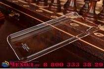 Фирменная задняя панель-крышка-накладка из тончайшего и прочного пластика для Huawei Honor 4A/Y6/ Y6 Dual sim прозрачная