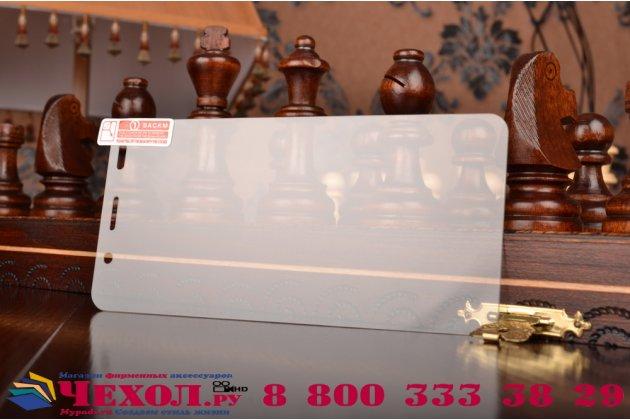 Фирменное защитное закалённое противоударное стекло премиум-класса из качественного японского материала с олеофобным покрытием для Huawei Honor 4A/Y6/ Y6 Dual sim