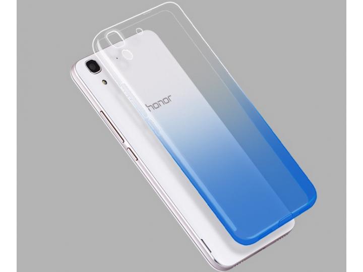 Фирменная из тонкого и лёгкого пластика задняя панель-чехол-накладка для Huawei Honor 4A/Y6/ Y6 Dual sim  проз..