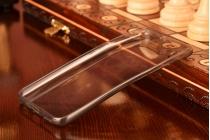 Фирменная ультра-тонкая полимерная из мягкого качественного силикона задняя панель-чехол-накладка для Huawei Honor 4A/Y6/ Y6 Dual sim черная