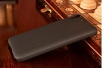 Фирменная задняя панель-крышка-накладка из тончайшего и прочного пластика для Huawei Honor 4A/Y6/ Y6 Dual sim черная