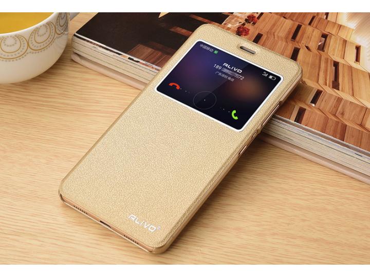 Фирменный оригинальный чехол-книжка для Huawei Honor 5 (Cun-TL00)