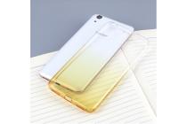 """Фирменная ультра-тонкая полимерная задняя панель-чехол-накладка из силикона для Huawei Y6 2 (II)""""  прозрачная  с эффектом песка"""