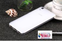 """Фирменная ультра-тонкая силиконовая задняя панель-чехол-накладка для Huawei Y6 2 (II)"""" белая"""