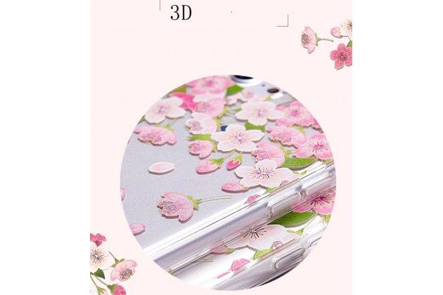 """Фирменная роскошная задняя панель-чехол-накладка из прозрачного качественного силикона с изящным дизайном для Huawei Honor 5C/7 Lite/GT3 5.2  тематика """"Балерина"""""""