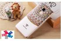 """Фирменная ультра-тонкая силиконовая задняя панель-крышка-накладка  для Huawei Honor 5C/7 Lite/GT3 5.2""""  с 3D объёмным рисунком """"тематика Эклектические Узоры"""""""