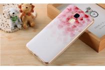 """Фирменная ультра-тонкая силиконовая задняя панель-крышка-накладка  для Huawei Honor 5C/7 Lite/GT3 5.2""""  с 3D объёмным рисунком """"тематика Нежное сердце"""""""