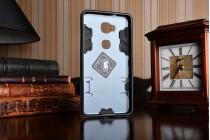 """Противоударный усиленный ударопрочный фирменный чехол-бампер-пенал для  Huawei Honor 5X / 5X Play /  KIW-AL10 / Mate 7 Mini /GR5 5.5""""   черный"""