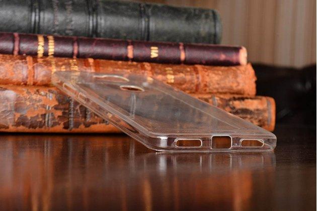 """Фирменная ультра-тонкая полимерная из мягкого качественного силикона задняя панель-чехол-накладка для Huawei Honor 5X / 5X Play /  KIW-AL10 / Mate 7 Mini /GR5 5.5""""  белая"""