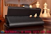 """Фирменный чехол-книжка из качественной импортной кожи с подставкой застёжкой и визитницей для Huawei Honor 5X / 5X Play /  KIW-AL10 / Mate 7 Mini /GR5 5.5"""" черный"""