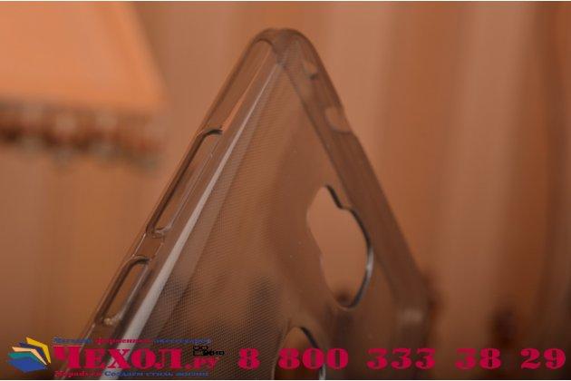 """Фирменная ультра-тонкая полимерная из мягкого качественного силикона задняя панель-чехол-накладка для Huawei Honor 5X / 5X Play /  KIW-AL10 / Mate 7 Mini /GR5 5.5""""  черная"""