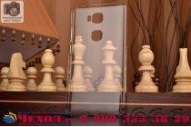 "Фирменная задняя панель-крышка-накладка из тончайшего и прочного пластика для Huawei Honor 5X / 5X Play /  KIW-AL10 / Mate 7 Mini /GR5 5.5""  прозрачная"