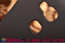 "Фирменная задняя панель-крышка-накладка из тончайшего и прочного пластика для Huawei Honor 5X / 5X Play /  KIW-AL10 / Mate 7 Mini /GR5 5.5"" черная"