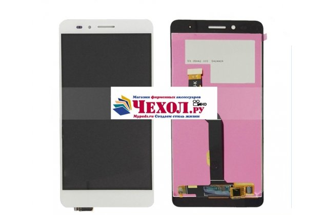 Фирменный LCD-ЖК-сенсорный дисплей-экран-стекло с тачскрином на телефон Huawei Honor 5X 5.5 (KIW-L21 /TL00 /AL10) белый + гарантия