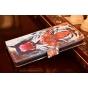 Фирменный уникальный необычный чехол-подставка с визитницей кармашком на Huawei Honor 5X / 5X Play /  KIW-AL10..