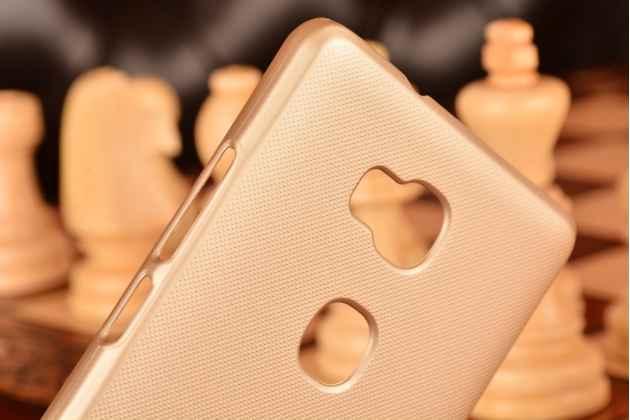 "Фирменная задняя панель-крышка-накладка из тончайшего и прочного пластика для Huawei Honor 5X / 5X Play /  KIW-AL10 / Mate 7 Mini /GR5 5.5"" золотая"