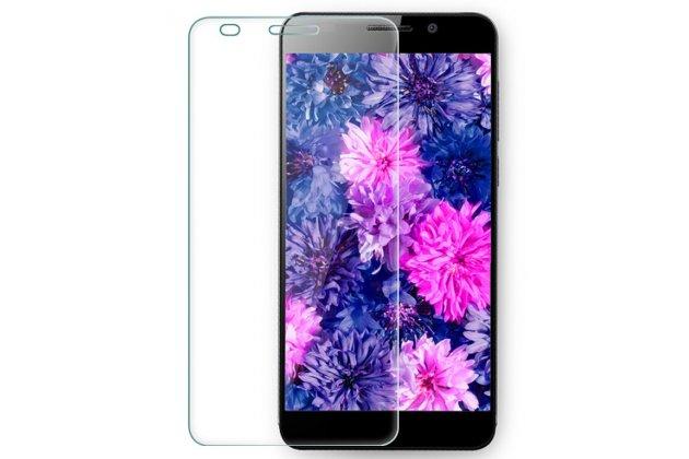 Фирменная оригинальная защитная пленка для телефона Huawei Honor 6 Plus глянцевая