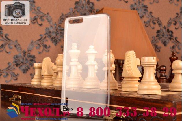 Фирменная ультра-тонкая полимерная из мягкого качественного силикона задняя панель-чехол-накладка для Huawei Honor 6 Plus белая