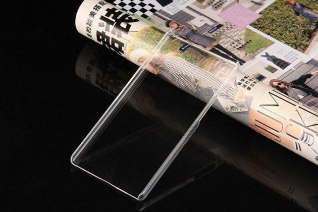 Фирменная ультра-тонкая прочная пластиковая задняя панель-чехол-накладка для Huawei Honor 6 Plus прозрачная