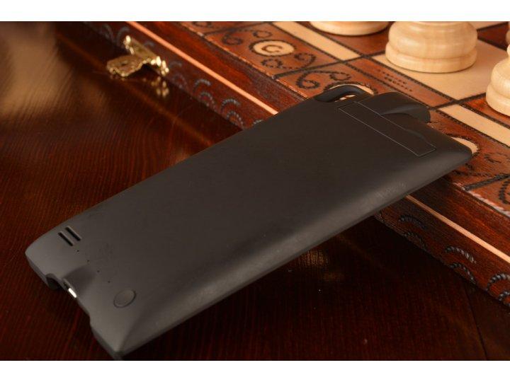 Чехол-бампер со встроенным усиленным аккумулятором большой повышенной расширенной ёмкости 3800mAh для Huawei A..