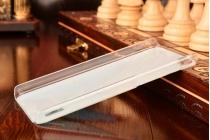 Фирменная необычная из легчайшего и тончайшего пластика задняя панель-чехол-накладка для Huawei Honor 6 тематика Радужные бабочки