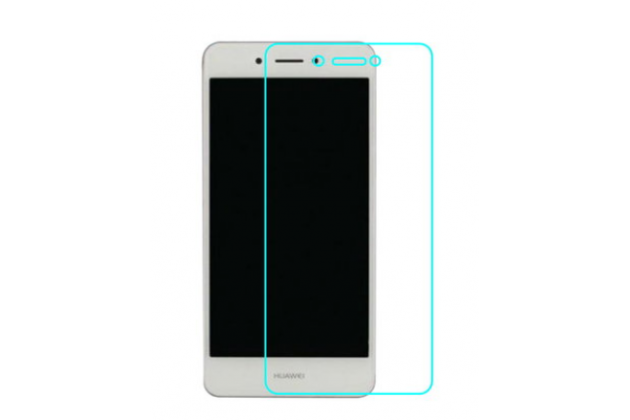 Фирменная оригинальная защитная пленка для телефона Huawei Enjoy 6S / Nova Smart 5.0/Huawei Honor 6C глянцевая
