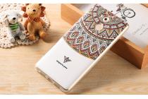"""Фирменная роскошная задняя панель-чехол-накладка из мягкого силикона с объемным  3D изображением  на Huawei Enjoy 6S / Nova Smart 5.0/Honor 6C c с безумно красивым рисунком  """"Тематика Эклектические узоры"""""""