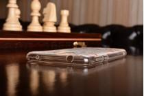 Фирменная уникальная задняя панель-крышка-накладка из тончайшего силикона для Huawei Enjoy 6S / Nova Smart 5.0/Honor 6C с объёмным 3D рисунком тематика Королевские цветы