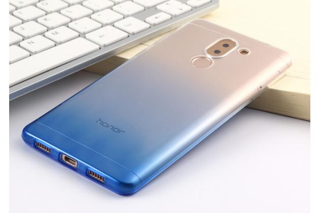 Фирменная ультра-тонкая полимерная задняя панель-чехол-накладка из силикона для Huawei Honor 6X (BLN-AL10) 5.5 прозрачная с эффектом дождя
