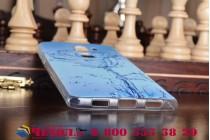 """Фирменная ультра-тонкая полимерная из мягкого качественного силикона задняя панель-чехол-накладка для Huawei Honor 6X (BLN-AL10) 5.5 тематика """"водяная роза"""""""