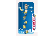 Фирменная ультра-тонкая полимерная из мягкого качественного силикона задняя панель-чехол-накладка для Huawei Honor 6X (BLN-AL10) 5.5 тематика Миньон