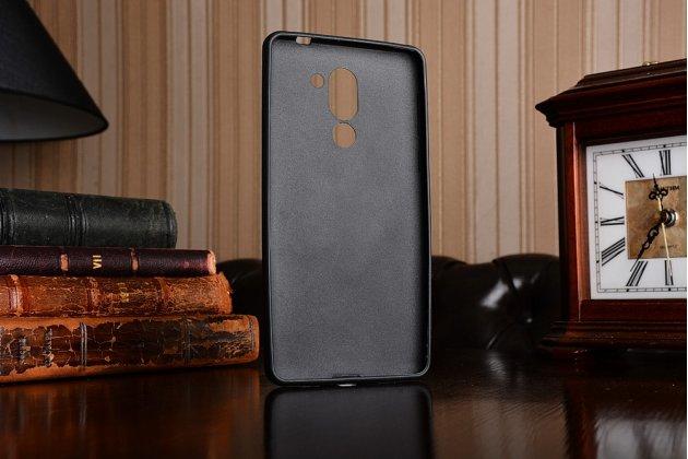 Фирменная ультра-тонкая полимерная из мягкого качественного силикона задняя панель-чехол-накладка для Huawei Honor 6X (BLN-AL10) 5.5 тематика Бабочка