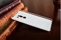 Фирменная уникальная задняя панель-крышка-накладка из тончайшего силикона для Huawei Honor 6X (BLN-AL10) 5.5 с объёмным 3D рисунком тематика Париж