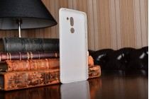 Фирменная ультра-тонкая полимерная из мягкого качественного силикона задняя панель-чехол-накладка для for Huawei Honor 6X (BLN-AL10) 5.5 белый матовый
