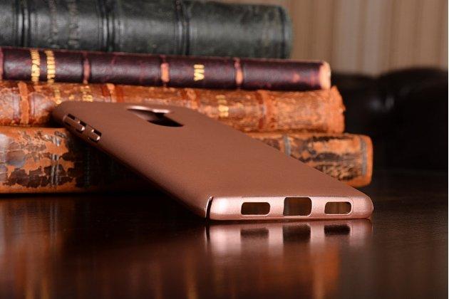 Фирменная задняя панель-крышка-накладка из тончайшего и прочного пластика для Huawei Honor 6X (BLN-AL10) 5.5 розовая
