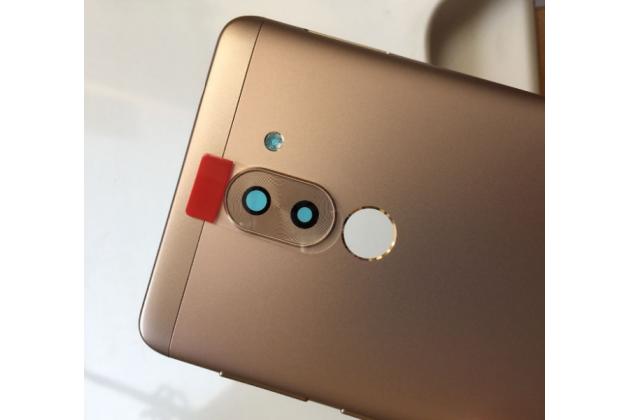 Родная оригинальная задняя крышка-панель которая шла в комплекте для Huawei Honor 6X золотая