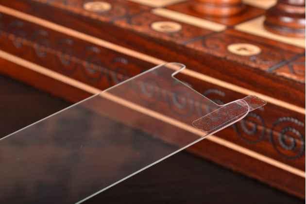 Защитное закалённое противоударное стекло премиум-класса с олеофобным покрытием совместимое и подходящее на телефон Huawei Honor 6X