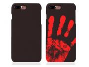 Фирменная эксклюзивная термо-накладка с реагированием на температуру руки коричневого цвета для Huawei Honor 7..