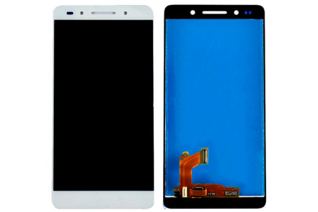 Фирменный LCD-ЖК-сенсорный дисплей-экран-стекло с тачскрином на телефон Huawei Honor 7/ Honor 7 Premium 5.2 белый + гарантия