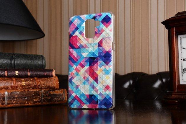 """Фирменная роскошная задняя панель-чехол-накладка с безумно красивым рисунком для Huawei Honor 7/ Honor 7 Premium """"тематика Яркая Мозайка"""""""