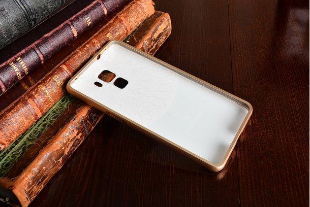 """Фирменная роскошная задняя панель-чехол-накладка из мягкого силикона с объемным 3D изображением на Huawei Honor 7 с объёмным 3D рисунком """"тематика Эклектические Узоры"""""""
