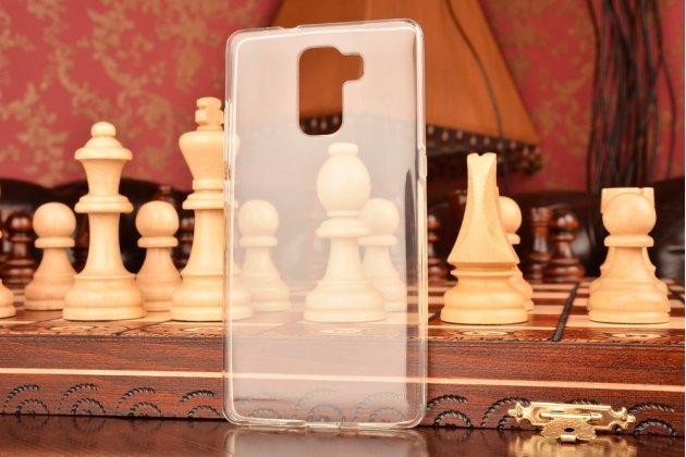Фирменная ультра-тонкая полимерная из мягкого качественного силикона задняя панель-чехол-накладка для Huawei Honor 7/ Honor 7 Premium прозрачная